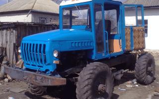 Особенности конструкции и сборки самодельного трактора из автомобиля ГАЗ 66