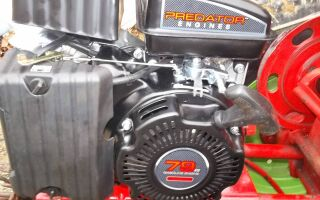 Двигатель дизельного мотоблока