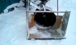 Снегоуборщик из газонокосилки — как сделать своими руками?
