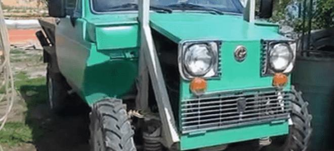 Принцип создания самодельного трактора из автомобиля Нива