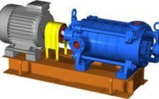 Насосы ЦНС: особенности конструкции, технические характеристики