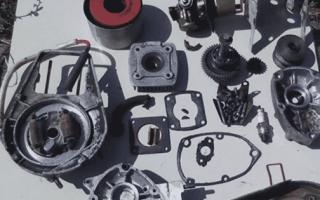 Ремонт двигателя мотоблока Крот своими руками