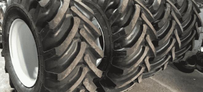 Колеса трактора: выбор резины, виды шин