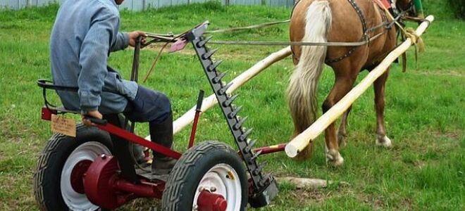 Косилка для лошади своими руками 3