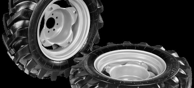 Как выбрать шины для минитракторов?