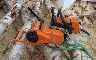 Лебедка из бензопилы – особенности конструкции