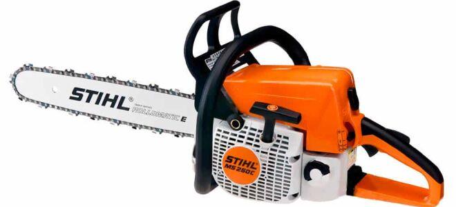 Мощная переносная бензиновая пила Shtil 250