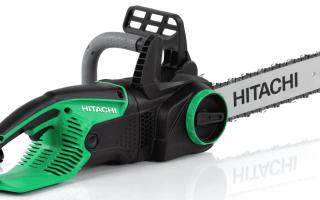 Электропилы Хитачи (Hitachi): виды и особенности