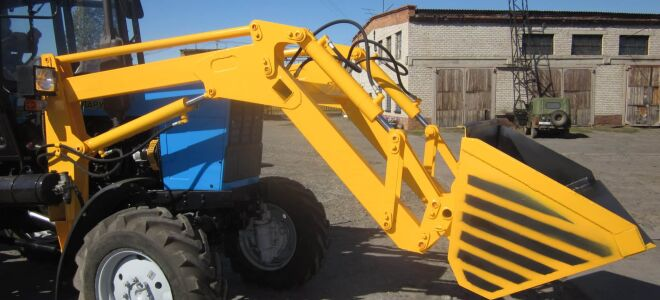 Кун на трактор: популярные модели и создание своими руками