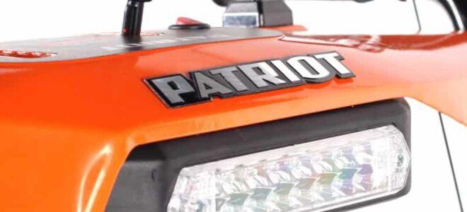Снегоуборщик Патриот: надежная техника для дач и частных подворьев