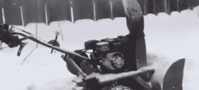 Снегоуборщик из газового баллона – как сделать своими руками?