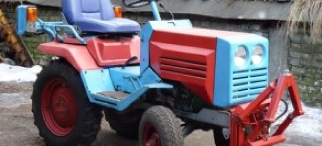 Трактор КМЗ-012: особенности и технические характеристики