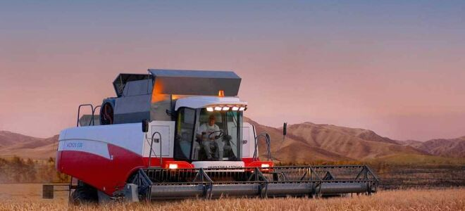 Виды и классификация зерноуборочных комбайнов