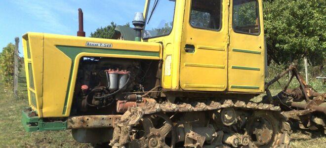 Техническое оснащение и особенности конструкции трактора Т-54