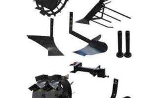 Что лучше: заводское или самодельное навесное оборудование для мотоблоков мтз