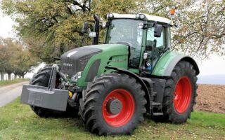 Модельный ряд мощных и производительных тракторов Фендт