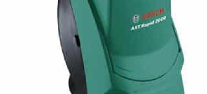 Измельчитель Bosch AXT Rapid 2000 – описание, характеристики и особенности эксплуатации