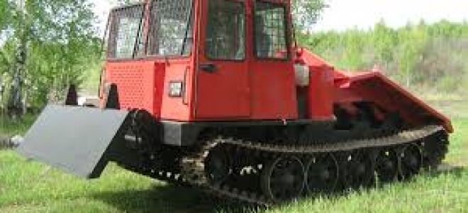 Трелевочный трактор ТТ-4 (лесовоз)