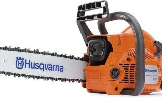 Бензопила Husqvarna 142 — особенности эксплуатации и обслуживания
