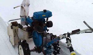 Снегоуборщик из культиватора – как сделать своими руками?