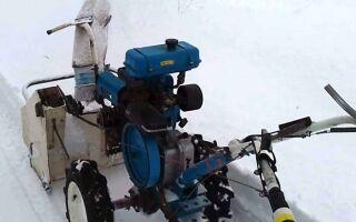 Снегоуборщик из культиватора – принцип работы и эффективность