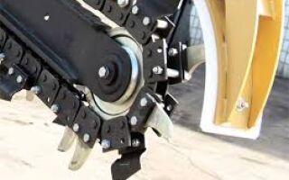 Траншеекопатели для мотоблока — заводской и самодельный?