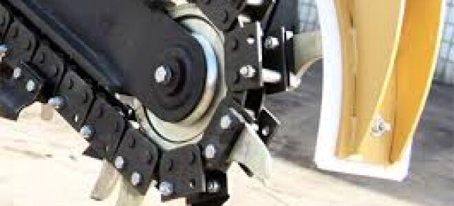 Заводской и самодельный траншеекопатели для мотоблока