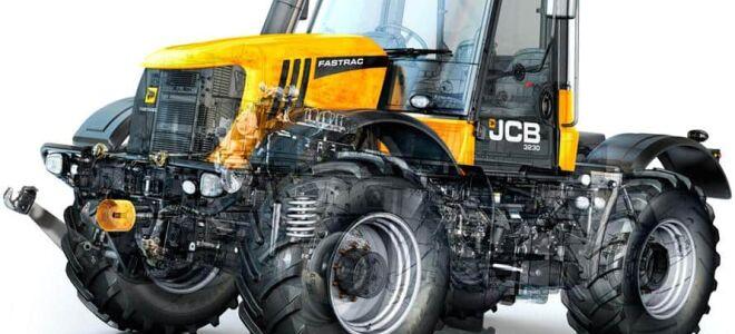 Тракторы Джисиби (JCB)