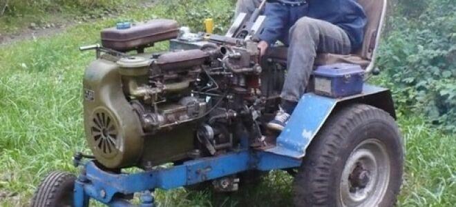 Принцип сборки самодельного трактора из автомобиля Луаз