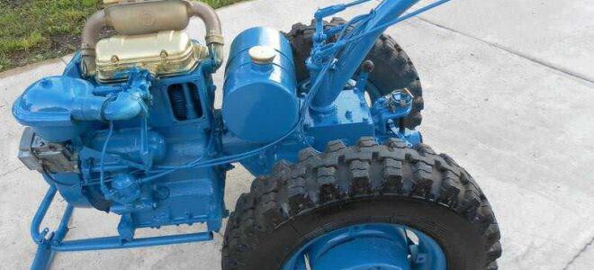 Мотоблок МТЗ 12: тяжелый агрегат легко справится с любыми задачами