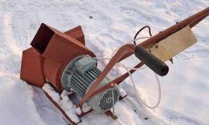 Снегоуборщик из триммера – как создать устройство своими руками