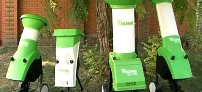 Измельчитель Викинг – надежная техника для вашего сада