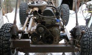 Собираем самодельный трактор из различных моделей «Жигулей»