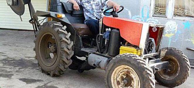 Тракторы самодельные – как и из чего изготовить
