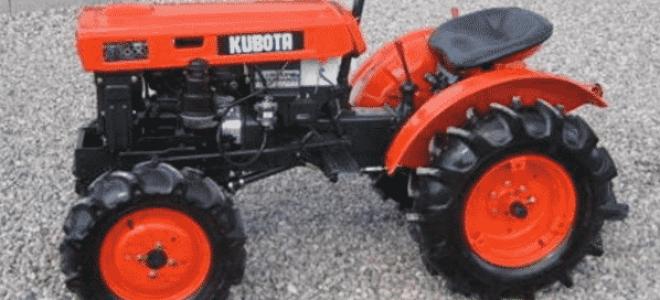 Минитрактор «Kubota» – лучший агрегат от японских производителей