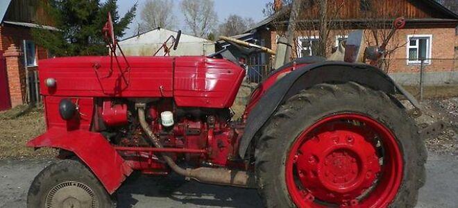Универсальный трактор с созвучным названием Universal UTB V 445