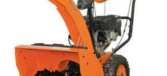 Снегоуборщик Кратон – эталон надежности и удобства использования