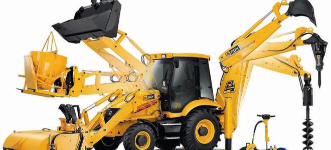 Чем отличается трактор от экскаватора?