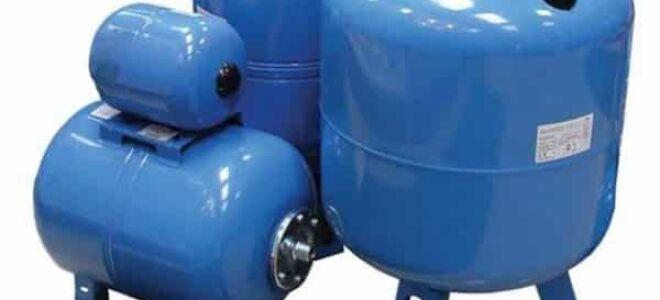 Характеристика мембранных баков для водоснабжения «Wester»
