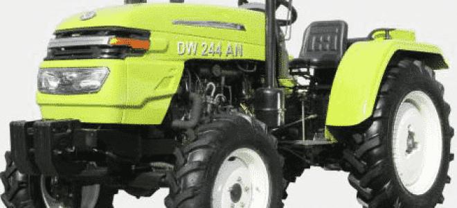 Отличительные особенности и популярные модели минитракторов dw