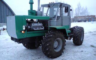 Технические характеристики и особенности тракторов Т-150 и Т-150К