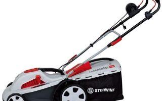 Избавляйтесь от физического труда. Покупайте газонокосилки «Sterwins»!