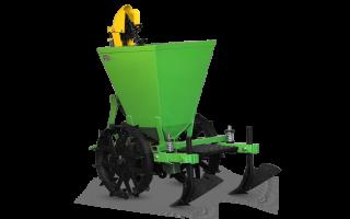 Картофелесажалка для минитрактора – автоматизация монотонного процесса