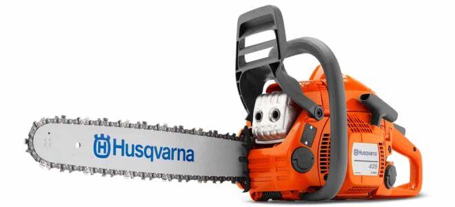 Возможности облегченной бензопилы Husqvarna 435