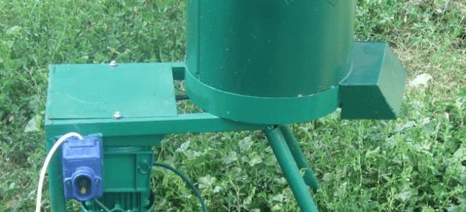 Измельчители кормов – виды, принцип работы и самостоятельное изготовление