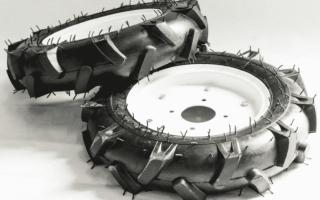 Колеса для мотоблока Нева: разновидности и способы применения