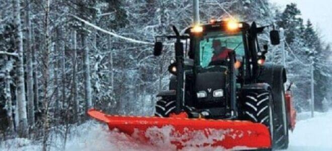 Трактор для уборки снега – технологии для комфорта