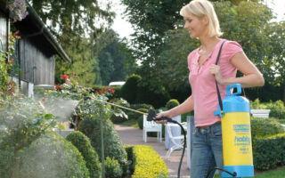 Опрыскиватели для сада – незаменимый садовый инвентарь