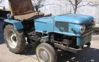 Трактор на базе автомобиля Москвич – особенности конструкции и принцип сборки