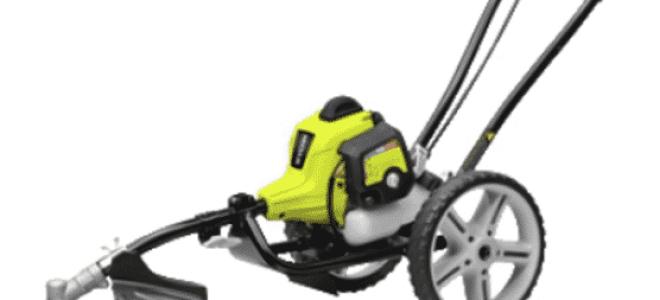 Триммер   колеса – это лучшее решение для большого газона